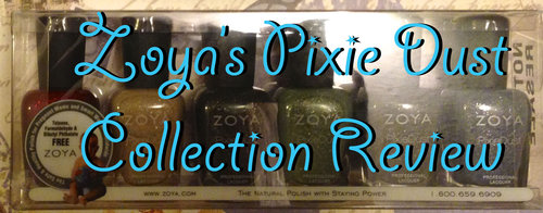 Zoya's Pixie Dus Collection Review