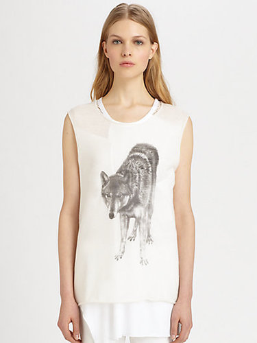 Tess Giberson Wolf Top