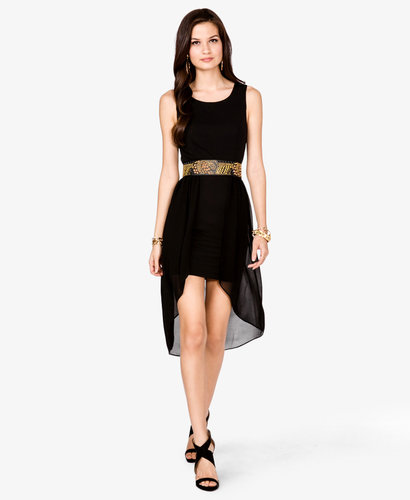 FOREVER 21 High-Low Shift Dress