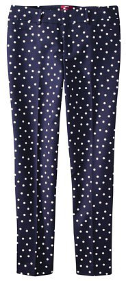 Merona® Women's Ankle Pant (Fit 2) - Black Dot Print