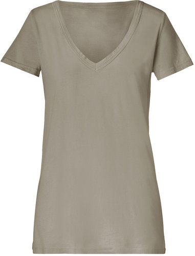 Market Walnut V-Neck T-Shirt