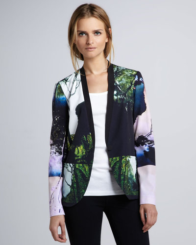 Clover Canyon Forest-Print Jacket