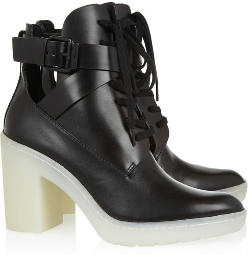Alexander Wang Lace-up leather boots