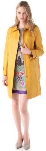Winter Coat Jacket Mellow Yellow