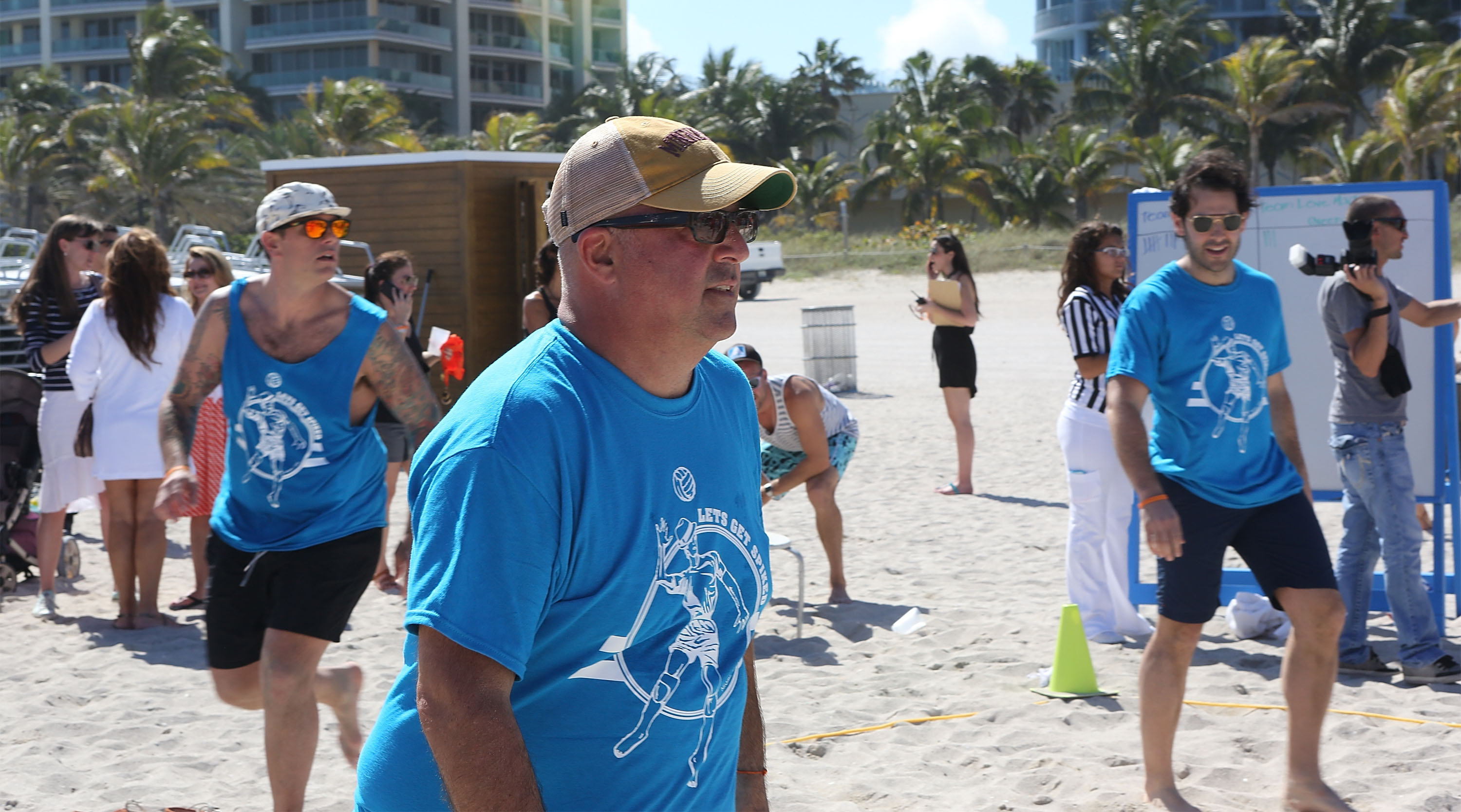 Celebrity Chef Volleyball Tournament