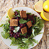 Spicy Beet Salad With Tofu