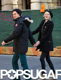 Emma Stone and Andrew Garfield Break for Breakfast in NYC