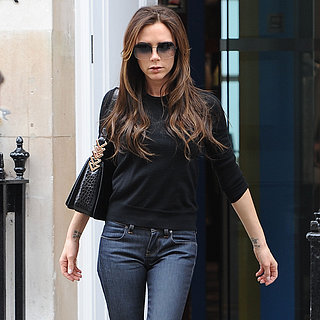 Victoria Beckham Shopping in London During David's Game