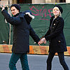 Andrew Garfield and Emma Stone Leaving Breakfast in NYC