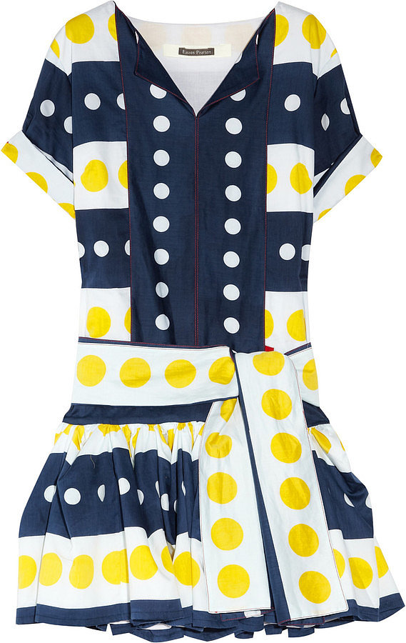 This bold, swingy Easton Pearson Seeing Spots Dress ($385, originally $955) was made just for sunny Spring days.