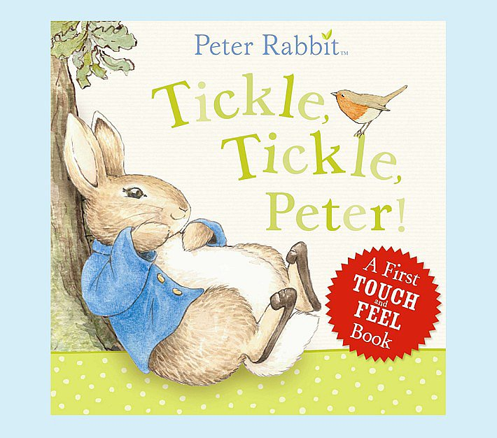 Tickle, Tickle, Peter! Touch & Feel Book
