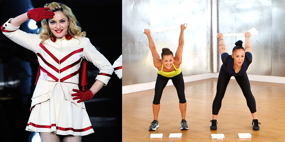 Get Ready to Sweat With This Towel Workout From Madonna's Trainer!