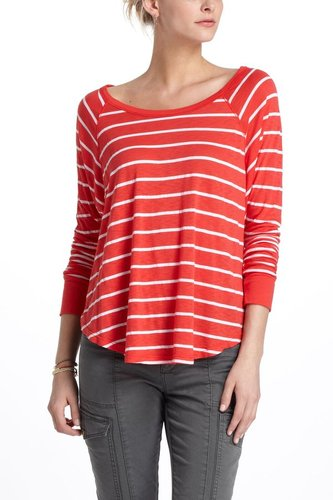 Curved Stripes Dolman