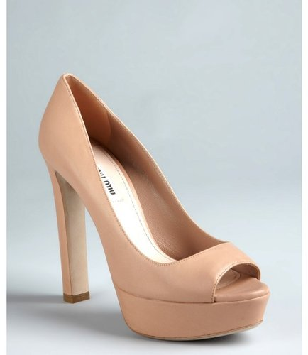 Nude Shoe Options