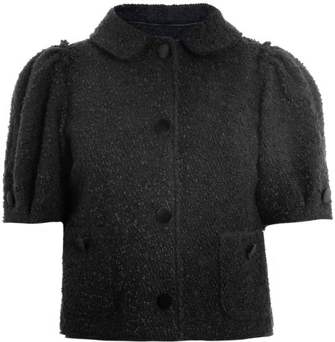 Dolce &amp; Gabbana Boucle wool cropped jacket
