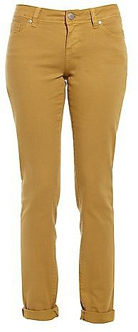 32in Mustard Straight Leg Jeans