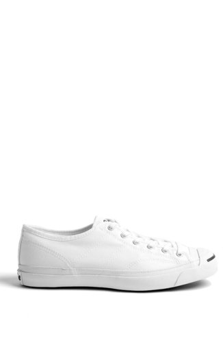 Converse White Canvas Jack Purcell Helen Plimsoll