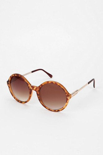 Poolside Round Frame Sunglasses