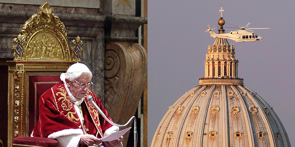 The Pope Retires and Literally Rides Into the Sunset