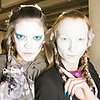 Vivienne Westwood Hair and Makeup | Fashion Week Fall 2013
