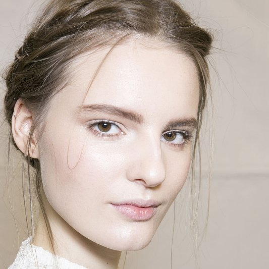 Romantic Braids at Viktor & Rolf Fall 2013