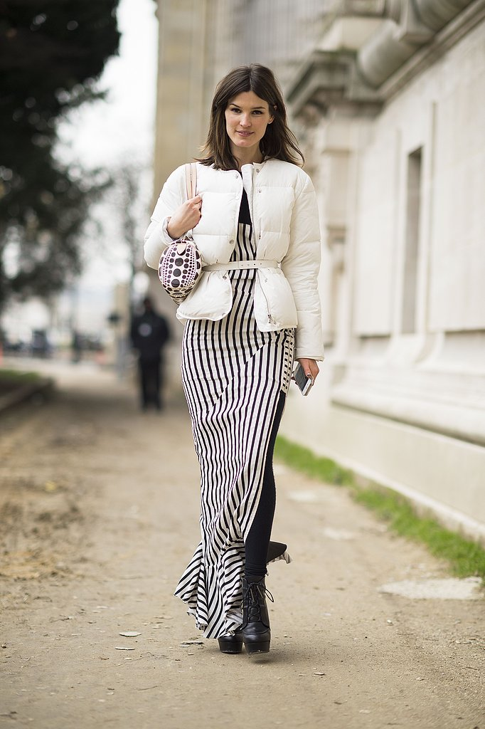 Hanneli showed off high-impact wares in a chic black and white palette. Source: Le 21ème | Adam Katz Sinding