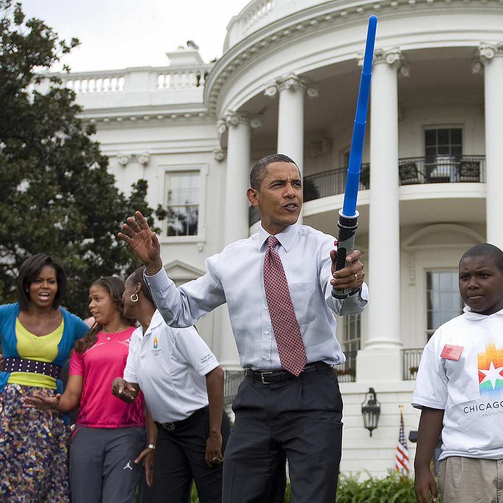 Obama's Jedi Shout-Out Sends Twitter Into a Tizzy