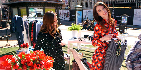 Coco Rocha Styles Us For Spring (With a Mod Twist!)
