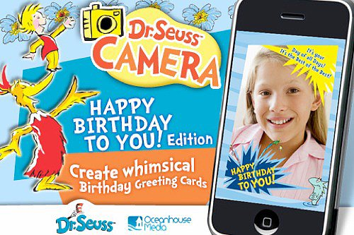 Dr. Seuss Camera Happy Birthday Edition 