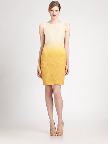 Akris Boucle Sheath Dress