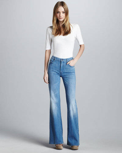 Mother Denim The Mellow Drama French Quarter Jeans