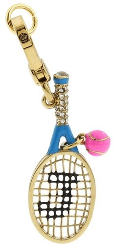 Juicy Couture - C-Tennis Racquet Charm