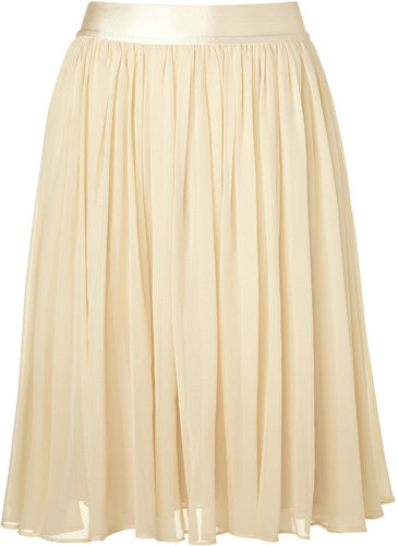 See by Chloé Almond swing skirt