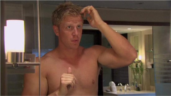 Viewers were able to watch Sean get ready for dates and rose ceremonies — shirtless, naturally.