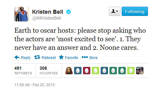 Kristen dishes out some media advice.