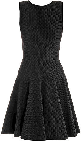 Azzedine Alaia Pique sleeveless dress