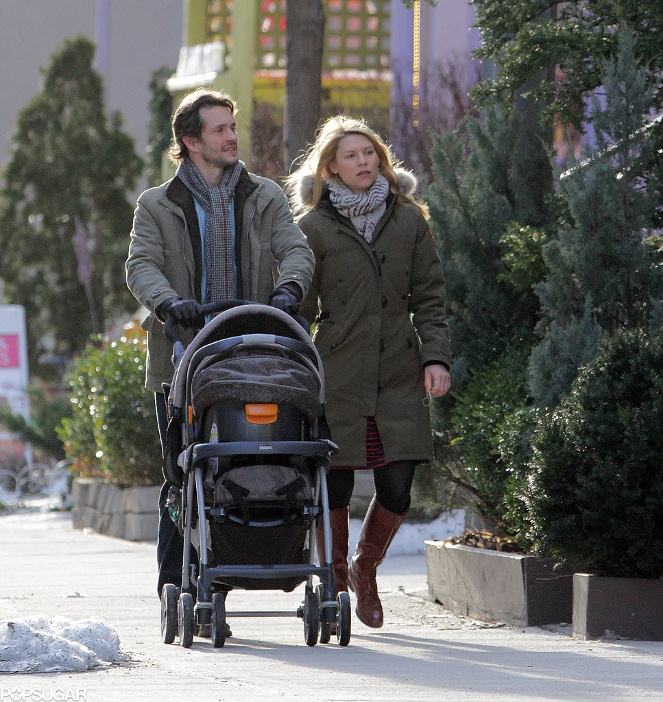 Hugh Dancy and Claire Danes became first-time parents to their son, Cyrus, in December 2012.