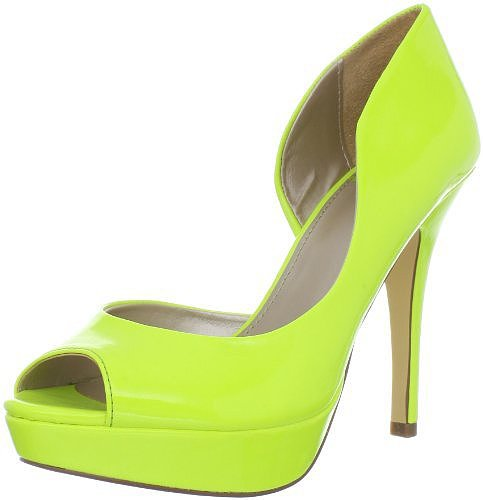Fergalicious Women&#039;s Eileen Peep-Toe Pump