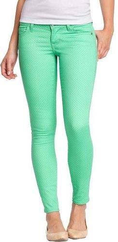 Women's The Rockstar Micro-Dot Skinny Jeans