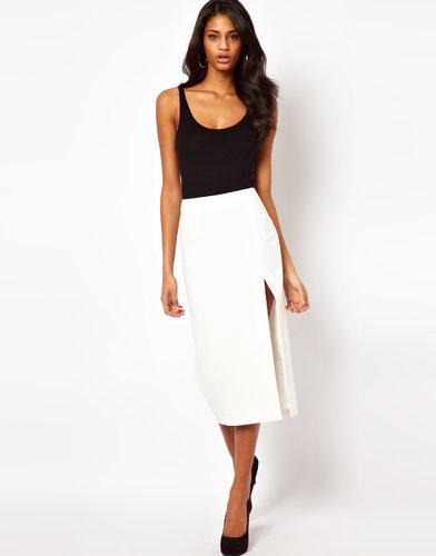 ASOS Pencil Skirt with Split Leg