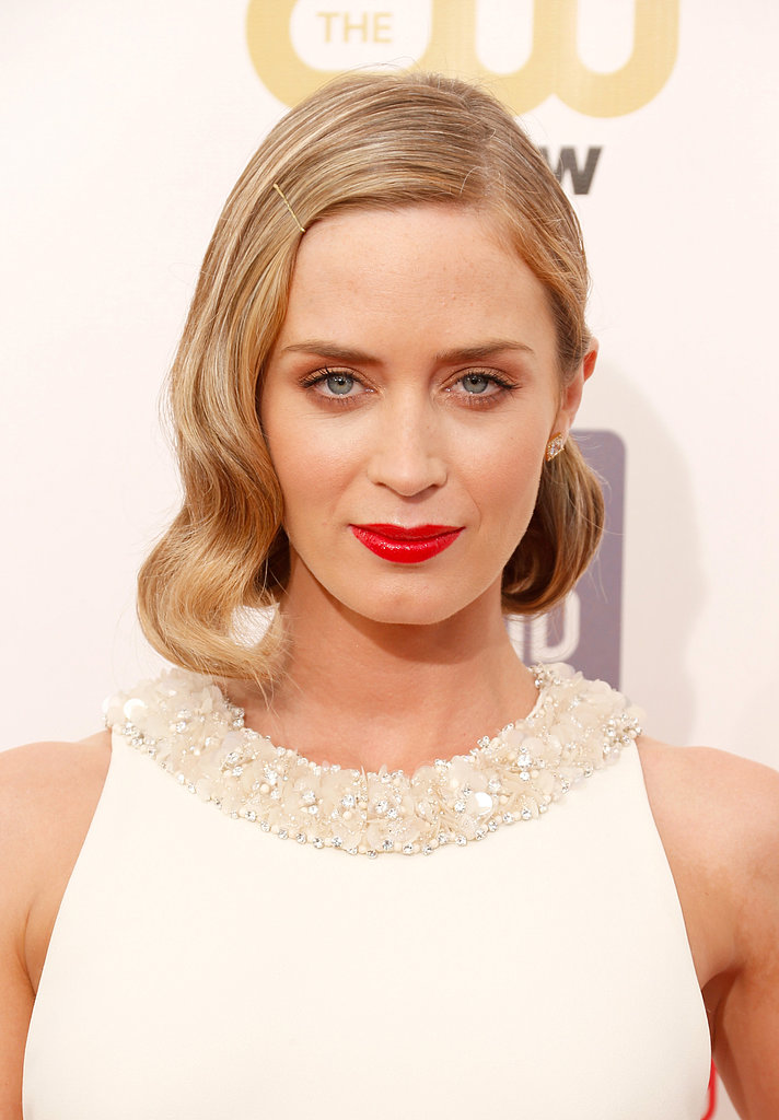 Emily Blunt at the Critics' Choice Awards