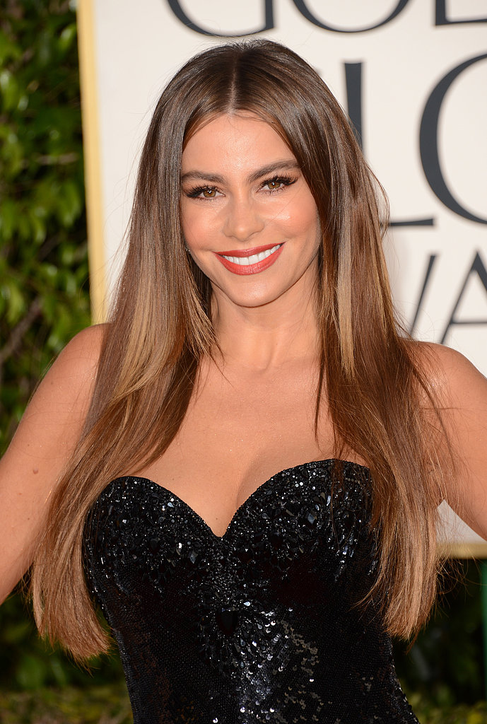Sofia Vergara at the Golden Globe Awards