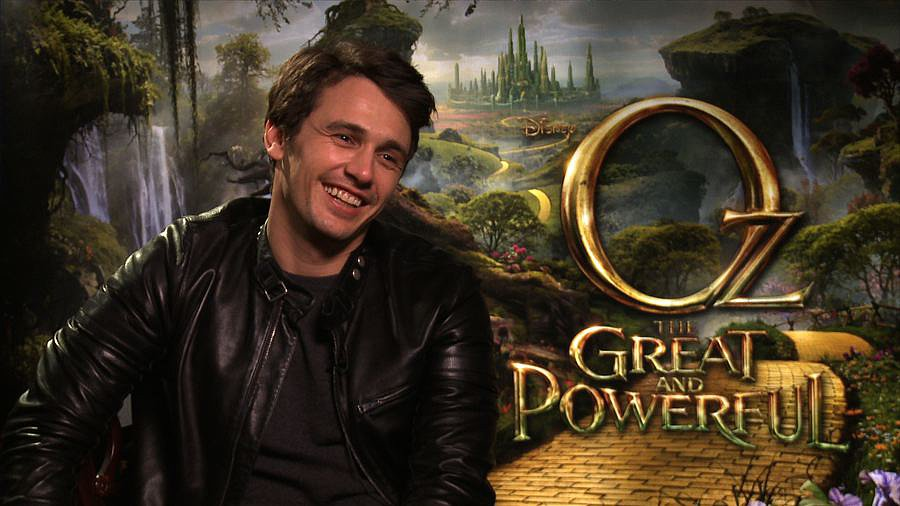 "James Franco on Playing a ""Rascal"" and Going to ""Beautiful"" Oz"