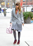 Jessica Biel strolled through NYC on Saturday.