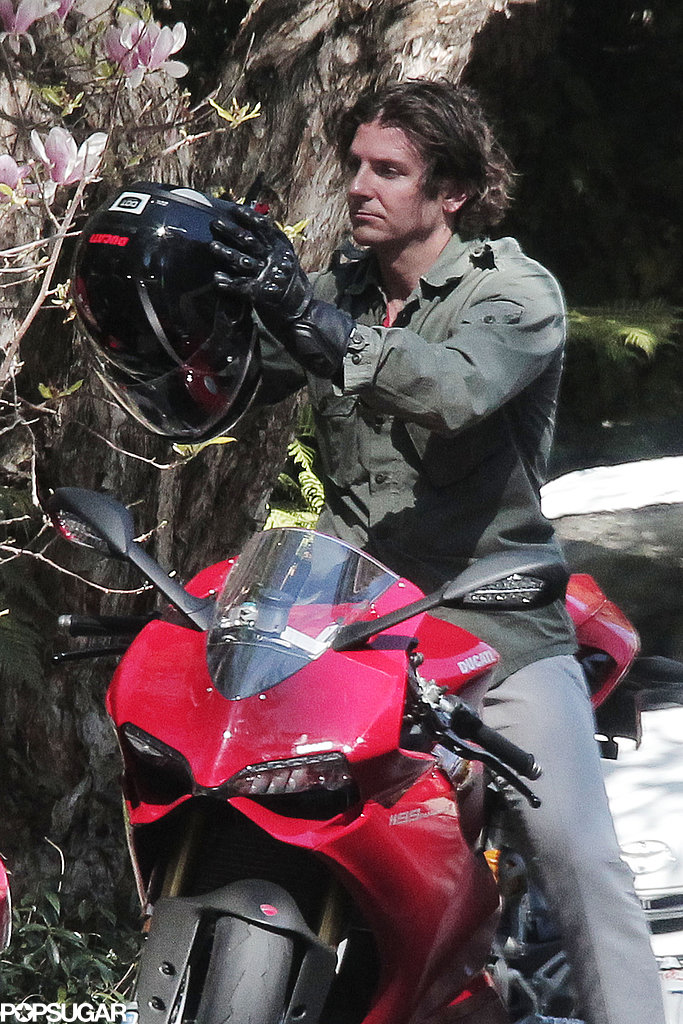 Bradley Cooper Marks His Award-Season Run With a New Motorcycle