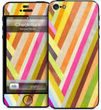 This vivid Checkmark ($15) skin for iPhone 5 will add some much-needed color to your day.