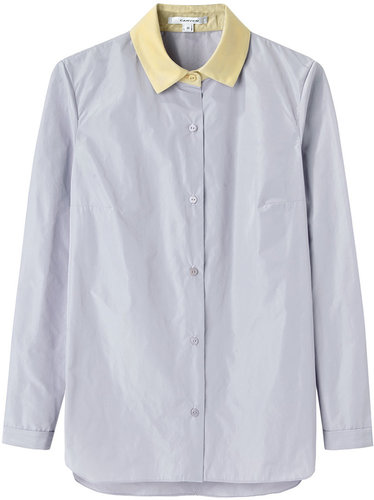 Carven / Contrast Collar Shirt