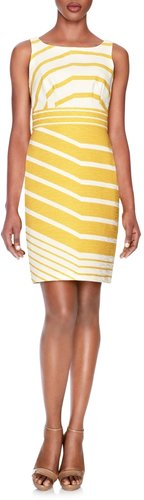 Graphic Stripe Dress