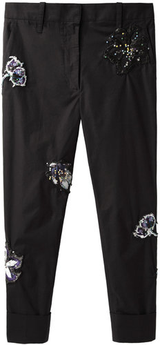 3.1 Phillip Lim / Embroidered Dickie Trouser