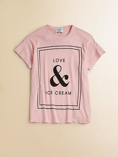 Wildfox Kids Girl's Love & Ice Cream Tee